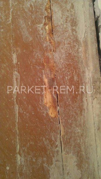 деревянный старый пол